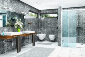 Dusche ohne Duschbecken