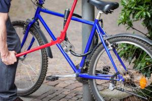Diebstahl eines Fahrrads