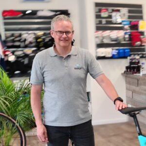 Rald Schwemin ist Experte für Fahrräder